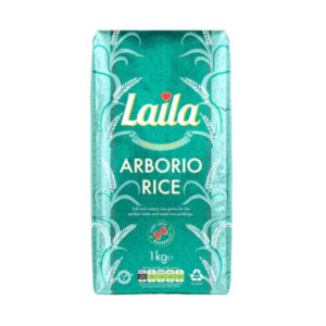 Buy Grocery Online united kingdom, Buy Indian grocery online, Buy Pakistani grocery online, Buy Bangladeshi grocery online, Laila Arborio Rice, short-grained rice, oval Italian white rice, risotto, Laila foods, Laila naturals
