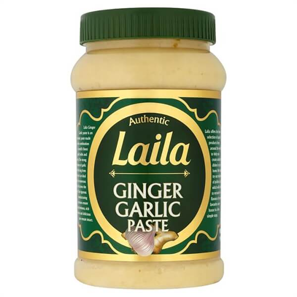 Buy Grocery Online united kingdom, Buy Indian grocery online, Buy Pakistani grocery online, Buy Bangladeshi grocery online, Laila Garlic & Ginger Paste, Laila foods, Laila naturals