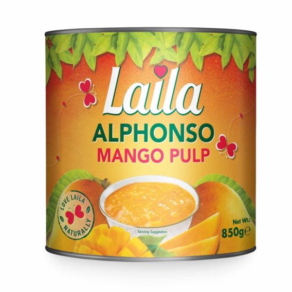 Alphonso Mango Pulp, Laila mango pulp, Laila foods, Grocery online