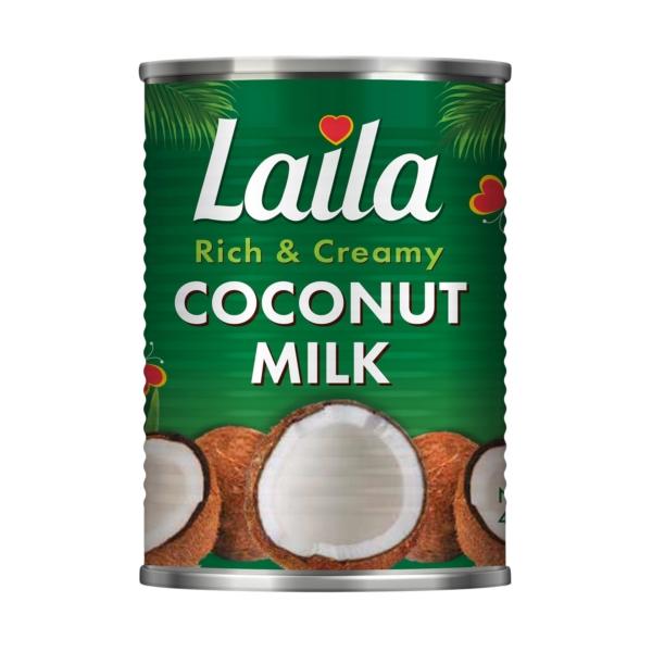 Coconut milk, canned milk, creamy coconut milk, Laila foods, grocery online