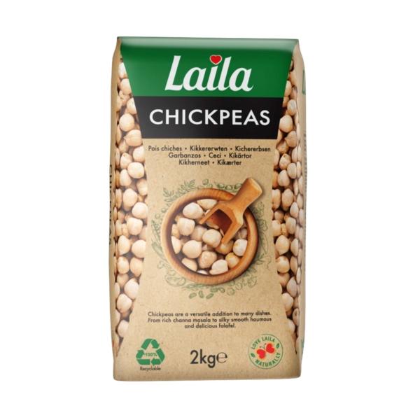 Chickpeas, Chole, Kabuli Chana, Lentil, Laila Foods, Grocery Online, 2kg pack