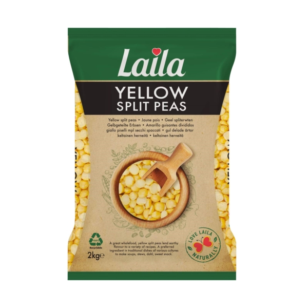 Yellow Split Peas, Yellow Dal, Lentils, beans, Laila Foods, Grocery Online Indian Grocery, Pakistani Grocery