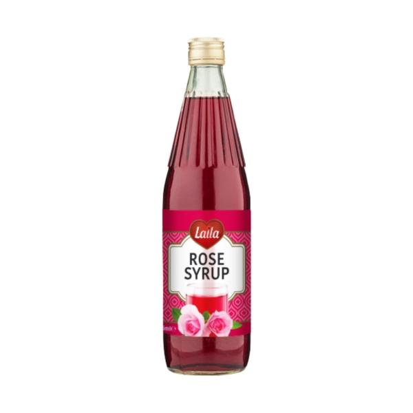 Rose Syrup, Rose Flavour Beverages, Laila Foods, Grocery Online