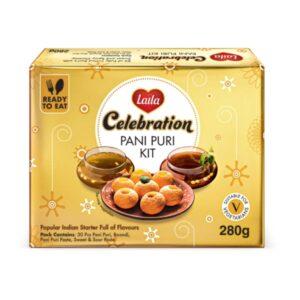 Laila Pani Puri Kit, Laila Foods, Laila Gold Rush, Diwali Celebration Gift